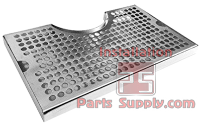 Cut Out Tower Drip Tray 304SS No Drain - Installation Parts Supply