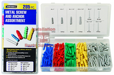 Drywall Screw Anchor Kit