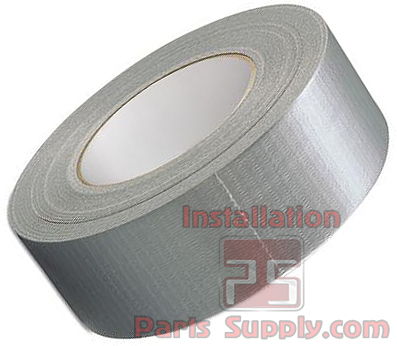 Duct Tape 2'' x 60' x 10mil - Installation Parts Supply