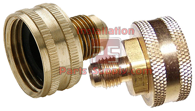Female Garden Hose Swivel x Flare W1