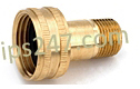 Female Garden Hose x MPT Swivel W1-