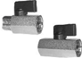 Mini Ball Valves-Chrome