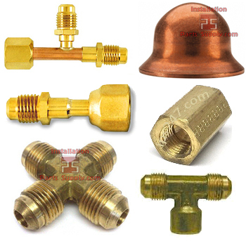 Flare Brass Fittings