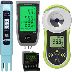 HM Digital Testing Instruments pH, TDS, EC, ORP