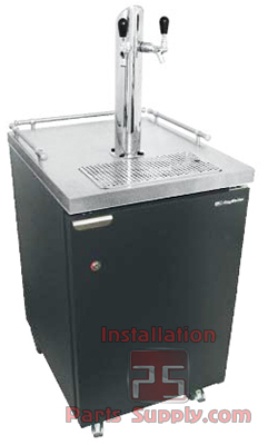 Kegerators Direct Draw Dispenser Systems - Installation Parts Supply