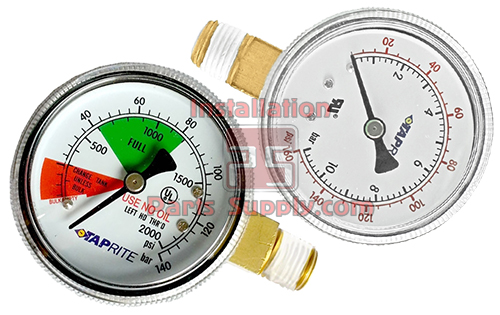 Pressure Gauges — Taprite - Installation Parts Supply