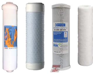 Replacement Filter Cartridges for R.O.'s