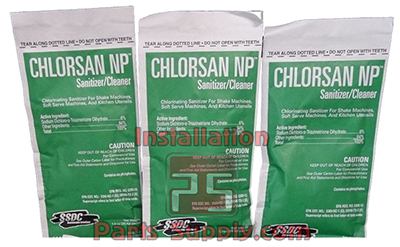 Sanitizers Chlorsan Packets
