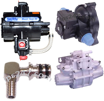 Shurflo Pumps & Accessories