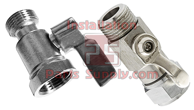 Shut Off Valves Beer Thread 304SS