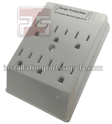 Six Outlet Taps w\ Surge Protection