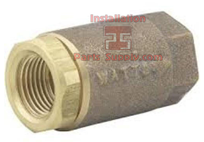 Spring Check Valve Watts 600 Series