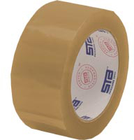 Tan Package Sealing Tape - Installation Parts Supply
