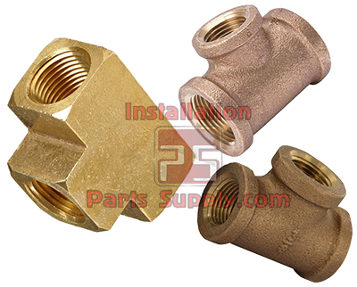 Tee Female NPT FPT All Sides 101A-