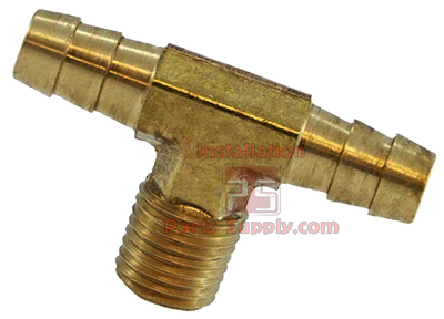 Barb Fittings Hose Barbs Brass Installation Parts Supply