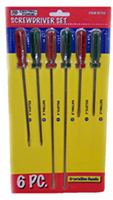 6-Piece Screwdriver Kit