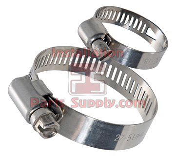 Hose Clamps Wormgear HS-Series - Installation Parts Supply