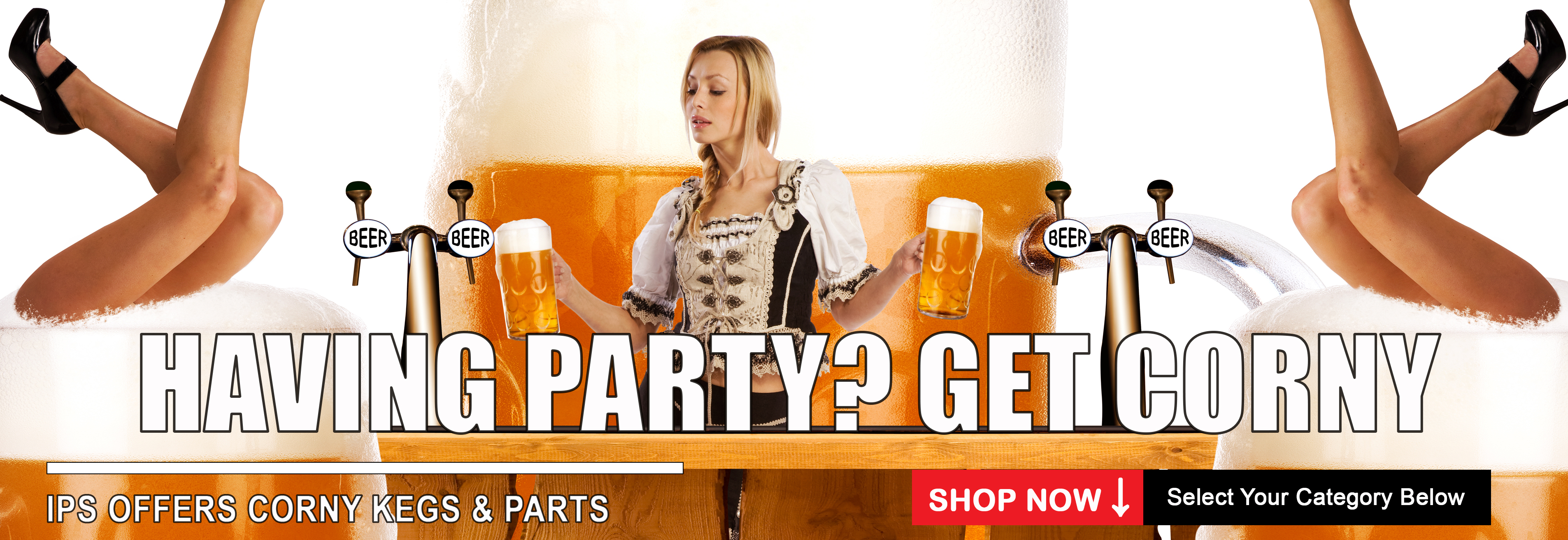 Ips Offers Corny Kegs & Parts