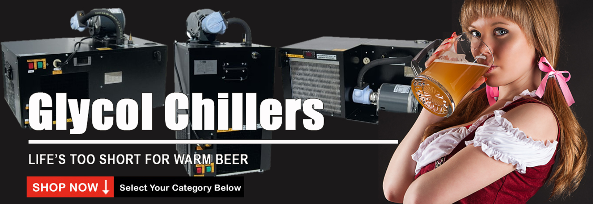 Glycol Chillers - Keep'em Cold!
