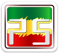 Sticker Square Big Rasta Far-I