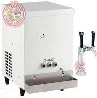 Low Volume Sparkling & Chilled Water Dispenser on Tap with Remote Undercounter CP-JR-UC-BH Chiller Carbonator