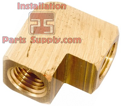 "1/4""x1/4"" FPT Pipe Elbow 90° Extruded Brass"