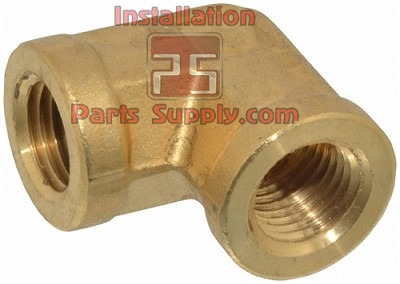 "1/4""x1/4"" FPT Pipe Elbow 90° Forged Brass"