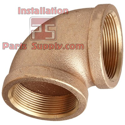 "1/2""x1/2"" FPT Pipe Elbow 90° Cast Brass"