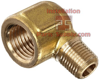 "1/4""x1/4"" Street Elbow 90° MPT x FPT Forged Brass"