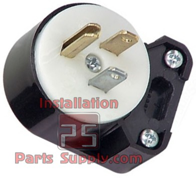 15A/125V Industrial Grounding 8 position Plug Cooper (5266AN)