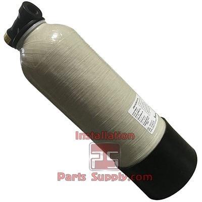 "Water Softener Tank 15,000 Grain C100E Resin, 15-Micron, 6"" x 18"" x 3/4"" FPT In/Out"