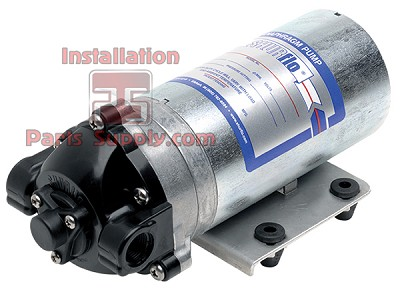 "Shurflo Water Pump >> RO Booster Pump, 50-150gpd(378.5LPD) 90psi 3/8""FPT 24vac/vdc Power Supply Req'd 60-044-00"