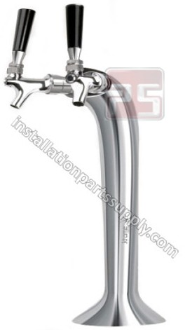 "Cobra Tower, Double Faucet, Air Cooled, 15.35"", C534"