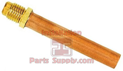 "3/8""x3/8"" Flare x Copper Tube Compression Adapter"