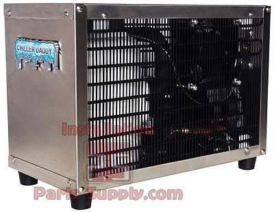 Chiller Daddy Water Chiller CHL-501, 1.32gph high output heavy duty undersink reverse osmosis water chiller