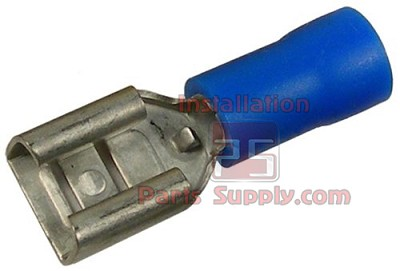 16-14 AWG Insulated Female .250 Spade Connectors - Blue