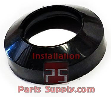 "3/8"" Flare Gaskets aka Fish-eyes Black Nylon"