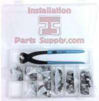 #98S-10 Oetiker Kit Includes: Oetiker Box, Oetiker 14100396 Front Jaw Pliers, & 10 ea. of 8 sizes