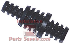 "1/4"", 3/8"" & 1/2"" Barb Plug Nylon Black"