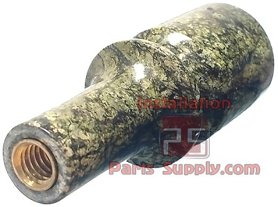 Tap Handle, Beer Faucet Lever, Green Marble, C012