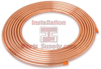 "1/4"" od x 5 0 x .030 Wall Copper Tube Refrigeration D04050"