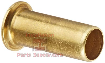 "5/16"" Tube Support, Tube Insert for Compression Fittings Brass"