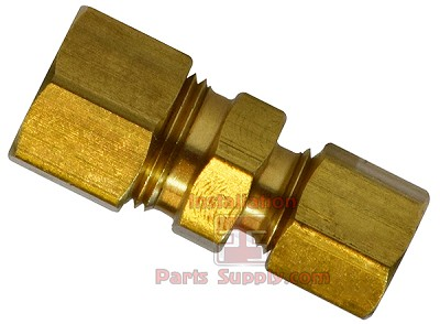"5/16""x5/16"" Compression Union Brass"