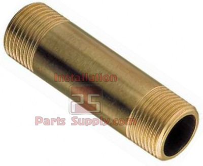 "1/4""x1.5"" NPT Male Pipe Nipple Brass 