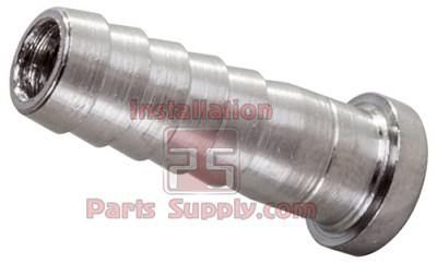 "3/8"" Barb Stem Stainless Steel for 3/8"" Swivel Nut NP50-6/S3178 (3009)"