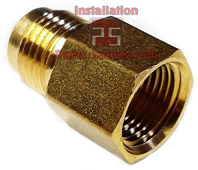 "3/8""x1/4"" Flare x FPT Adapter Brass"