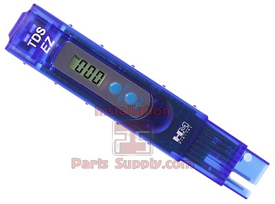 TDS Meter, DS Range: 0-9990 ppm (mg/L)