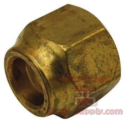 "1/4"" Flare Nut Forged Brass"