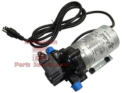 "2088-594-144, 115 VAC, 45 PSI shutoff, 3.3 GPM open flow, 1/2"" MPT, Cord, Demand Delivery Pump"