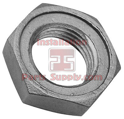 "1/2"" NPT Lock Nut / Jam Nut 304SS with O-Ring Groove"